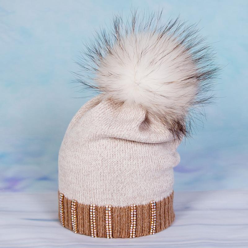 Трикотажная детская шапка