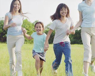 Подвижные игры с детьми на свежем