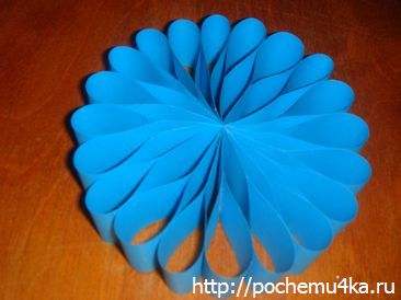 Новогодняя игрушка своими руками из бумаги к