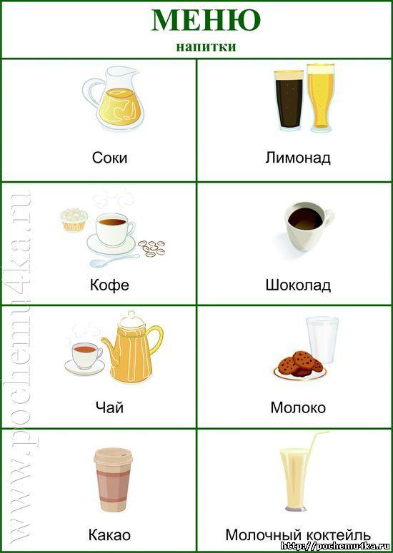 Кафе картинки для детей в детском саду