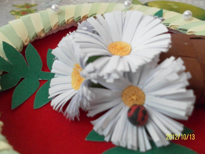 Ромашка цветы поделки - Поделки - цветы. Варианты поделок цветов. : Все для детей