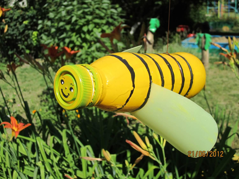Пчела из пластиковых бутылок » Чудесенка - Сайт для детей и 14