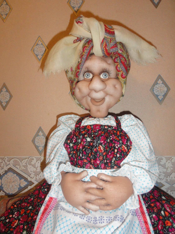 Чулочная кукла бабушка своими руками мастер класс 57