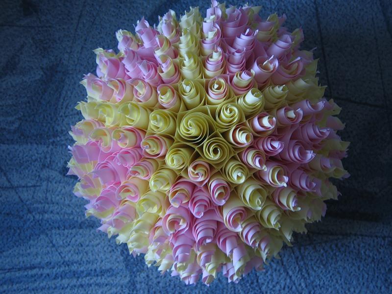 Шары кусудама цветы из бумаги схемы