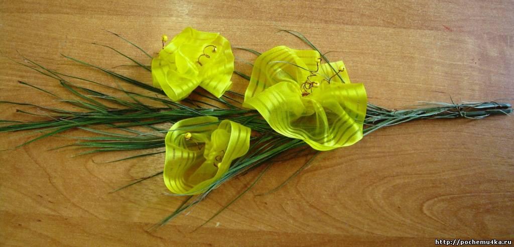 Сделай сам цветы из подручных материалов своими руками 446