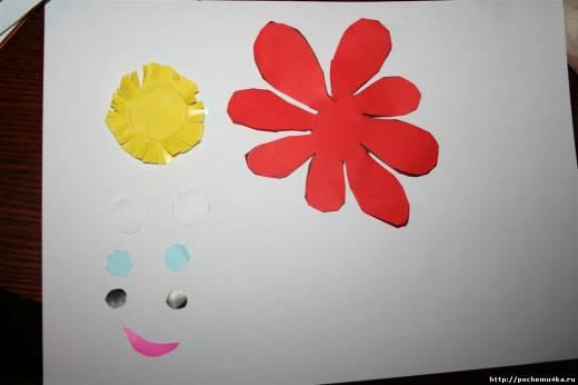 Поделка из бумаги своими руками цветок