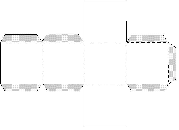 Как из бумаги сделать модель куба из бумаги