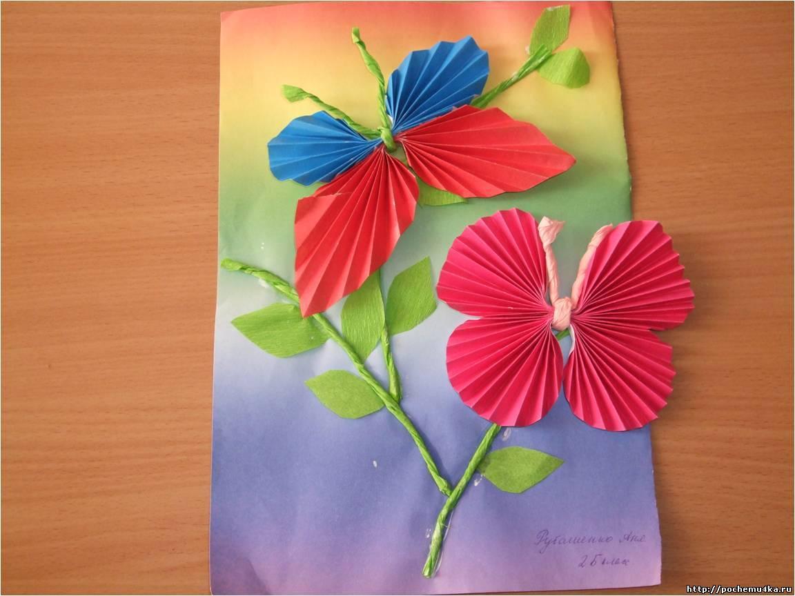 Поделки из бумаги своими руками для садика