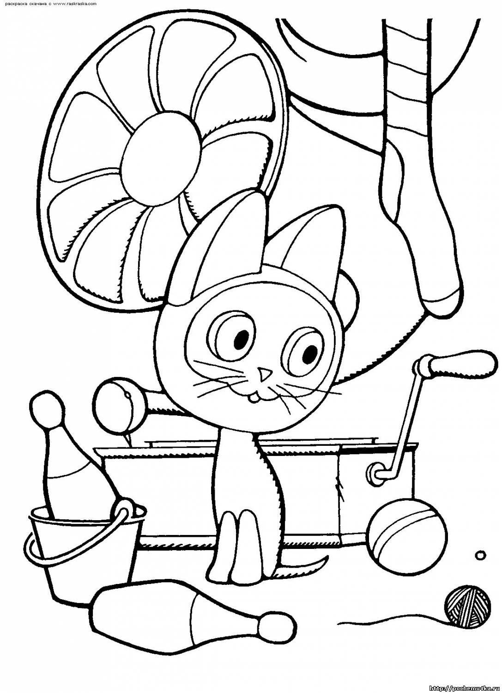 Раскраски из мультфильмов - Детские раскраски - Обучение и ...