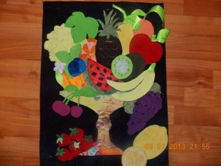 Картон цветная бумага бисер паетки