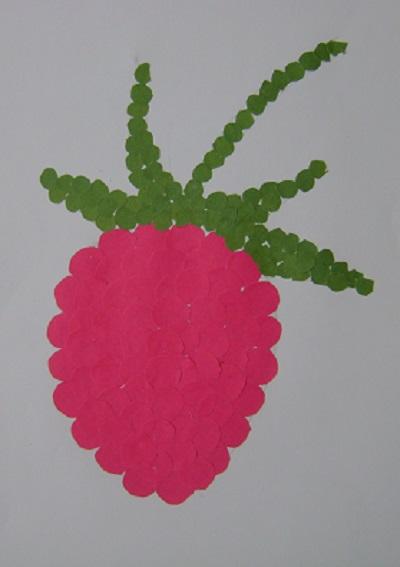 Набор для создания цветов из пайеток Земляника цв 91