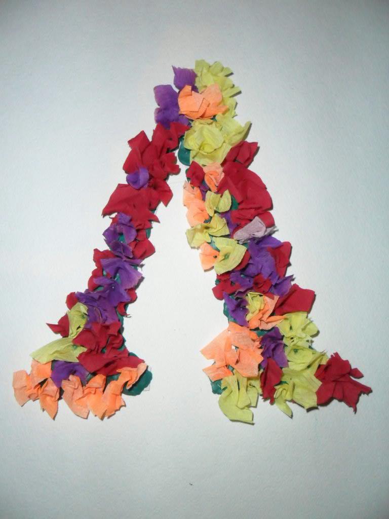 Буквы своими руками рисунки 60