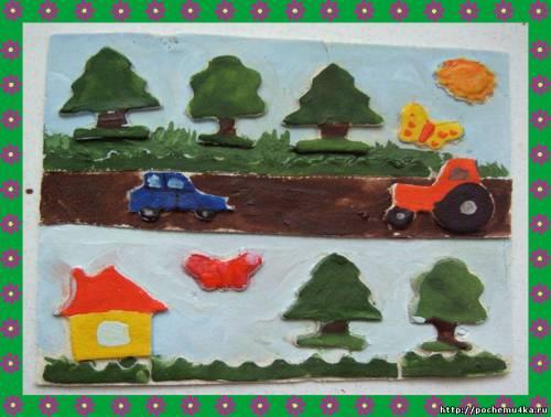 Поделка транспорт в детском саду