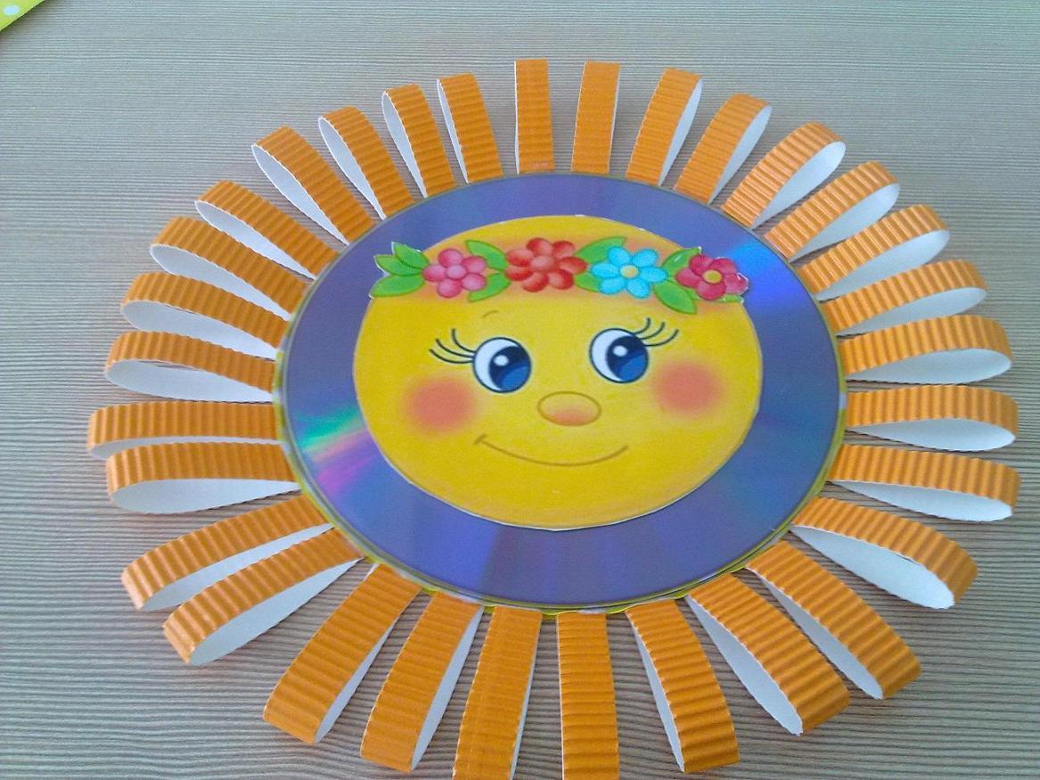 Изготовление солнышка своими руками 86