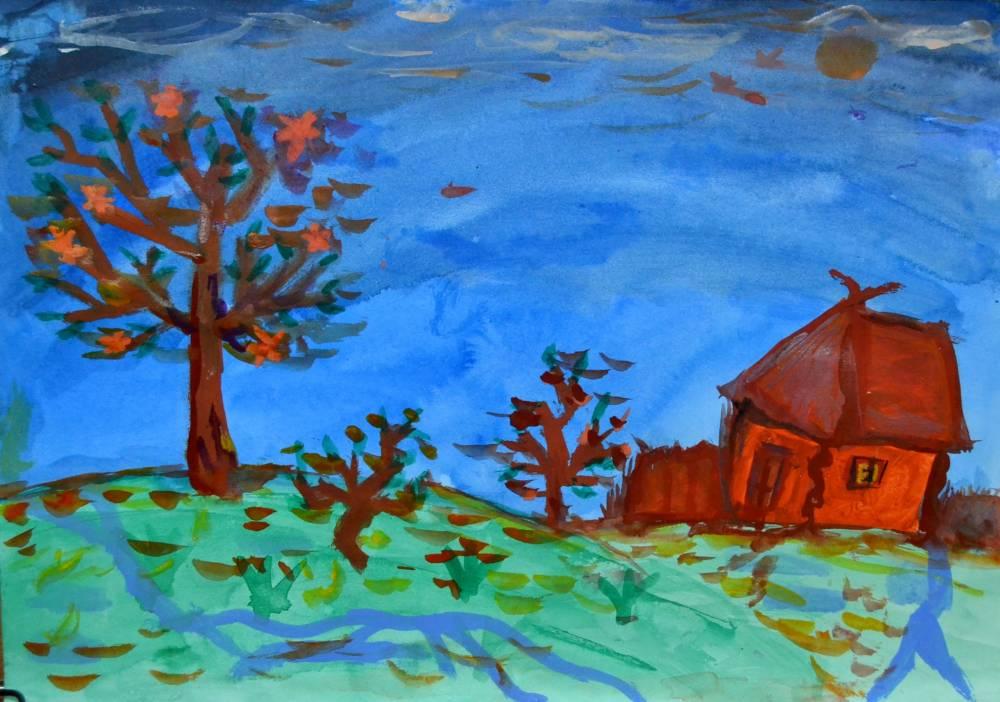 Легкий рисунок тимон и пумба аквариумных рыбок