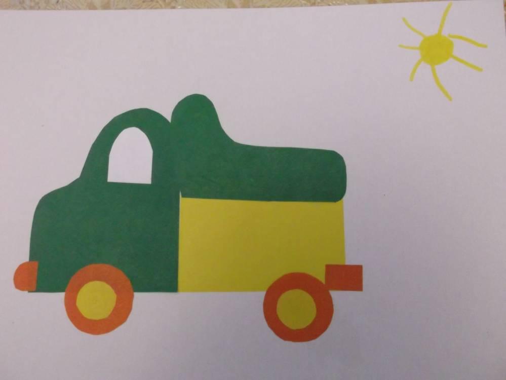 Поделка транспорт для детского сада