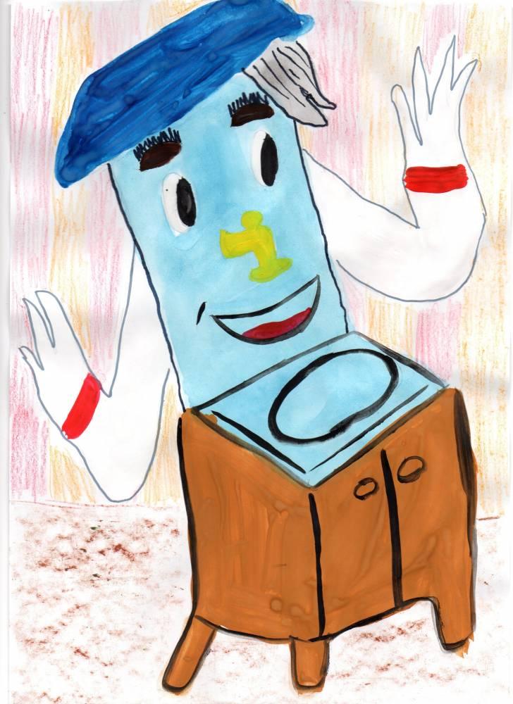 нарисовать рисунок мойдодыр в школу первый класс паспорт сделали формату
