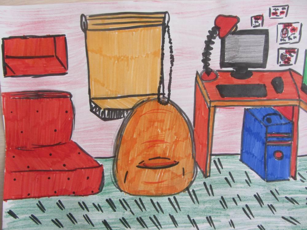 Картинка на тему моя комната