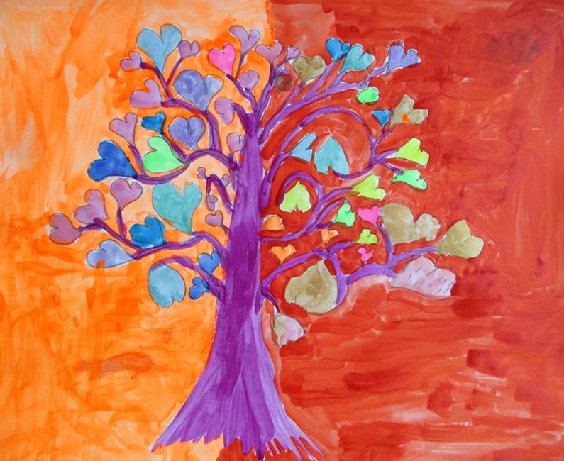 формированию картинки чудо дерева карандашом утомит