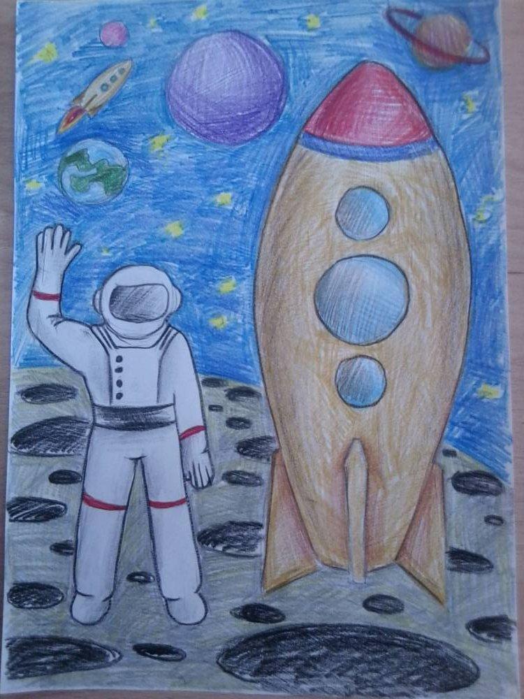 месту, картинки про космос нарисовать возможность заказать