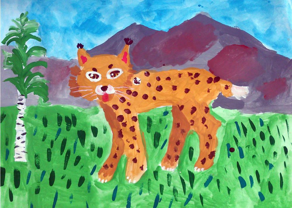 Рисовать картинка для детей животных