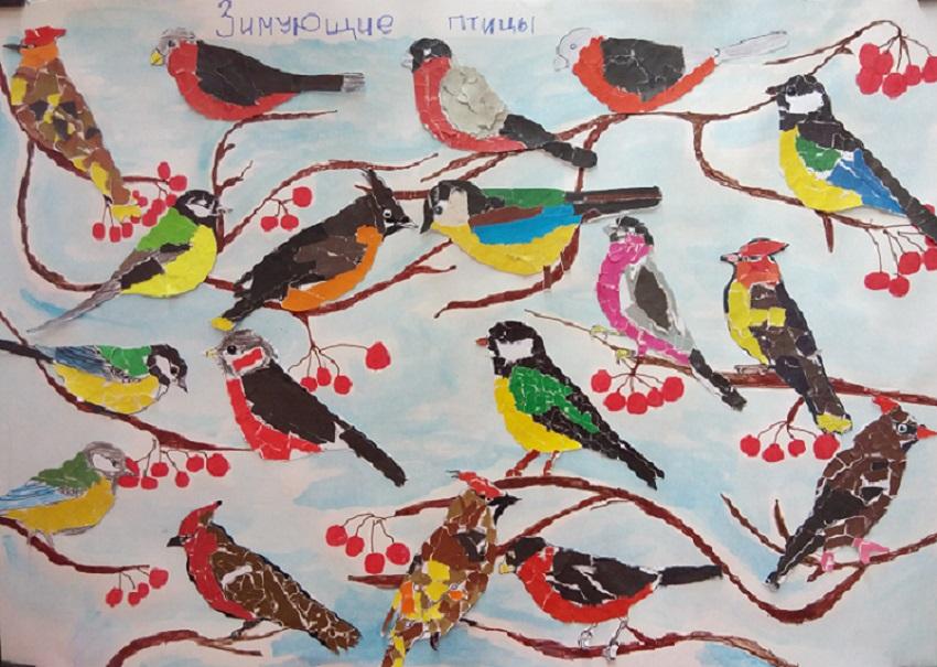 Дружная семейка: Зимующие птицы - снегири, да синицы - Pinterest