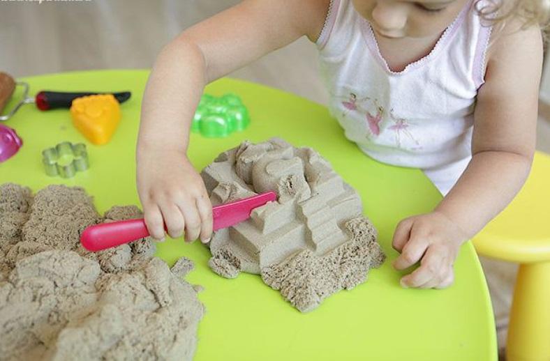 Как сделать космический песок