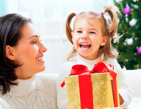 Новогодние подарки для родителей от детей