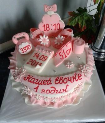 Украшения для торта на день рожденья своими руками 259
